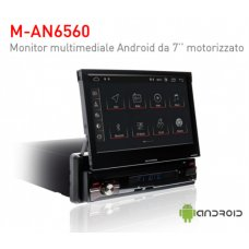 AN6560 MACROM - MONITOR MOTORIZZATO 1 DIN 7 RDS ANDROID 9.0 - WI-FI