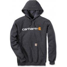 CARHARTT - FELPA CAPPUCCIO CARBON C-100074026005 - MEDUM REGULAR