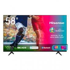 TELEVISORE 58' HISENSE 58A7100F 4K SMART ITALIA DVBT2 DVBS2