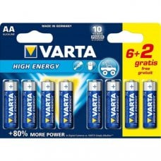 VARTA - LONGLIFE POWER AA BLISTER (6+2)