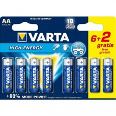 VARTA - LONGLIFE POWER AA BLISTER (6+2)