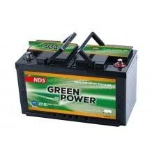 NDS GREEN POWER – BATTERIA PER SERVIZI 12V-100AH DIMENSIONI(MM):350*175*190H