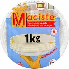 PIATTI PLASTICA PIANI MACISTE 1KG