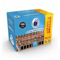 BORBONE BOX CIALDE NOBILE 80+15 OMAGGIO