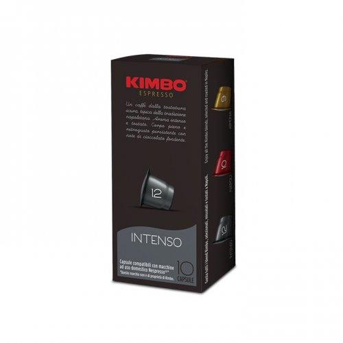 10 capsule compatibili nespresso kimbo intenso. Black Bedroom Furniture Sets. Home Design Ideas