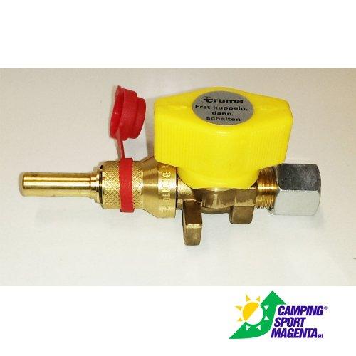 Valvola gas a chiusura rapida truma con attacco rapido - Valvola chiusura acqua bagno ...