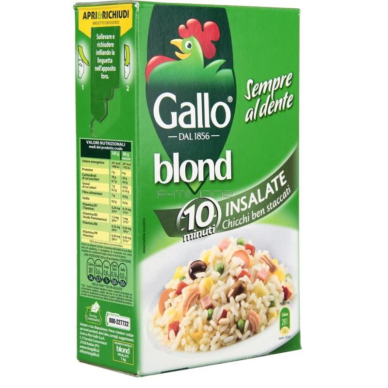 Riso gallo insalata di riso 1 kg for Cuocere 1 kg di riso