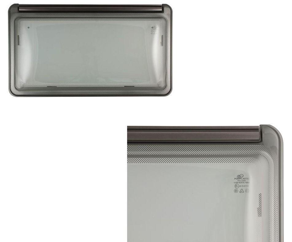 Finestra a compasso f23 senza accessori 900 x 500 mm - Finestre camper polyplastic ...