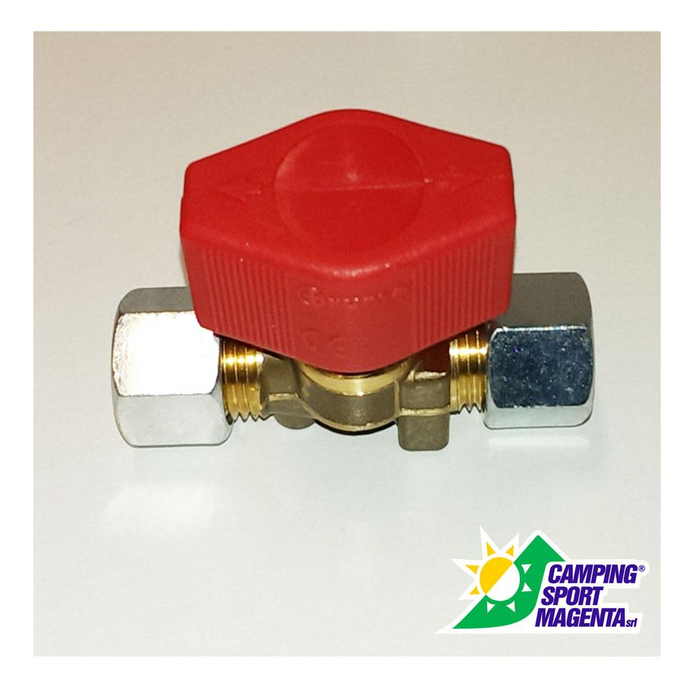 Valvola gas a chiusura rapida truma k 8 x 8 mm - Valvola chiusura acqua bagno ...