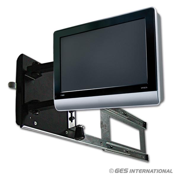 Porta tv per lcd estensibile con braccetti escursione 50 cm - Porta tv a parete orientabile ...
